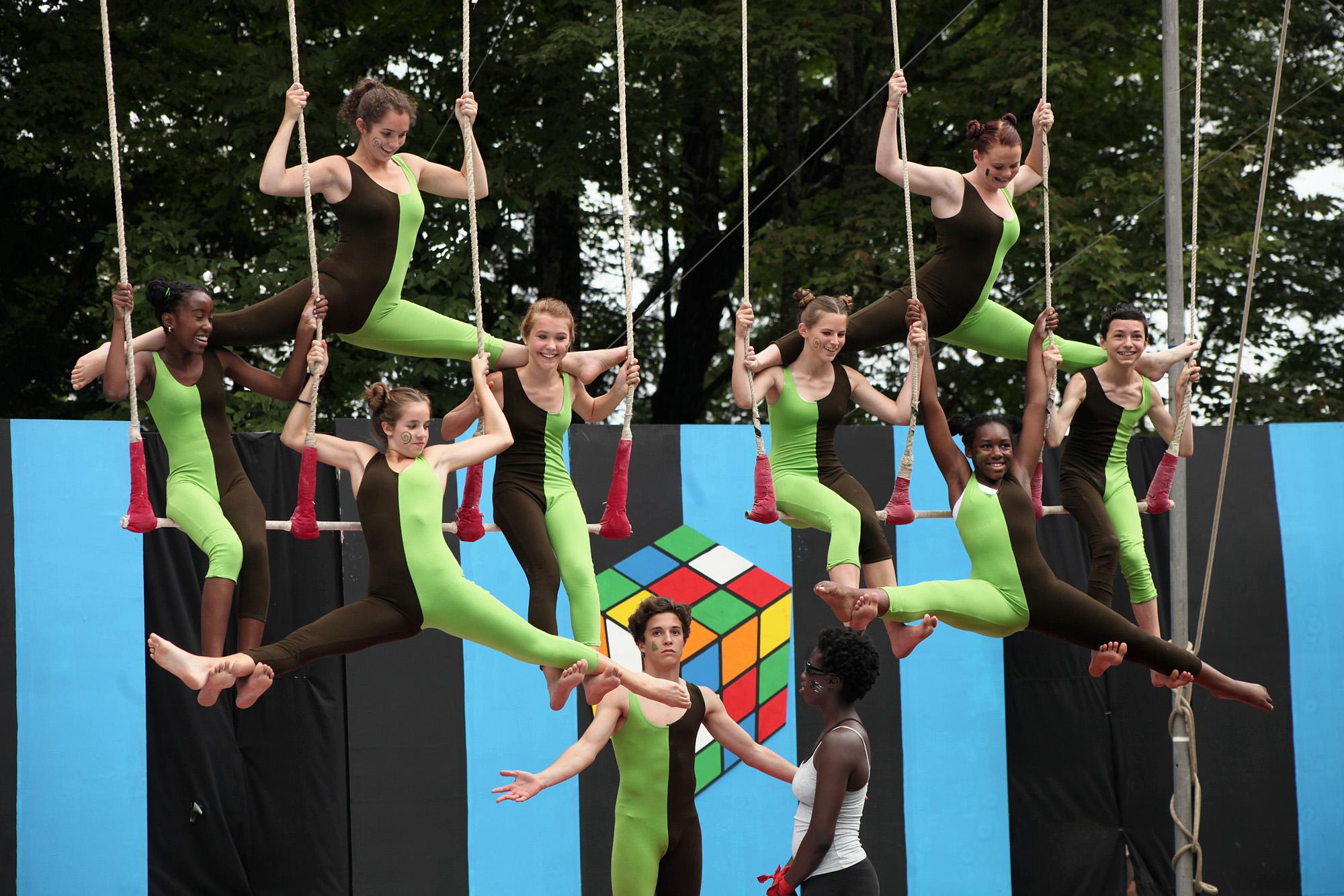 Circus Camp Long Lake 3 Ring Flying Circus Camps A